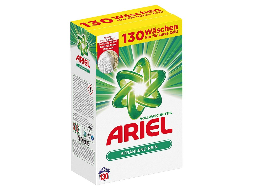 Ariel Univerzální prací prášek XL 8,45 kg 130 vyprání