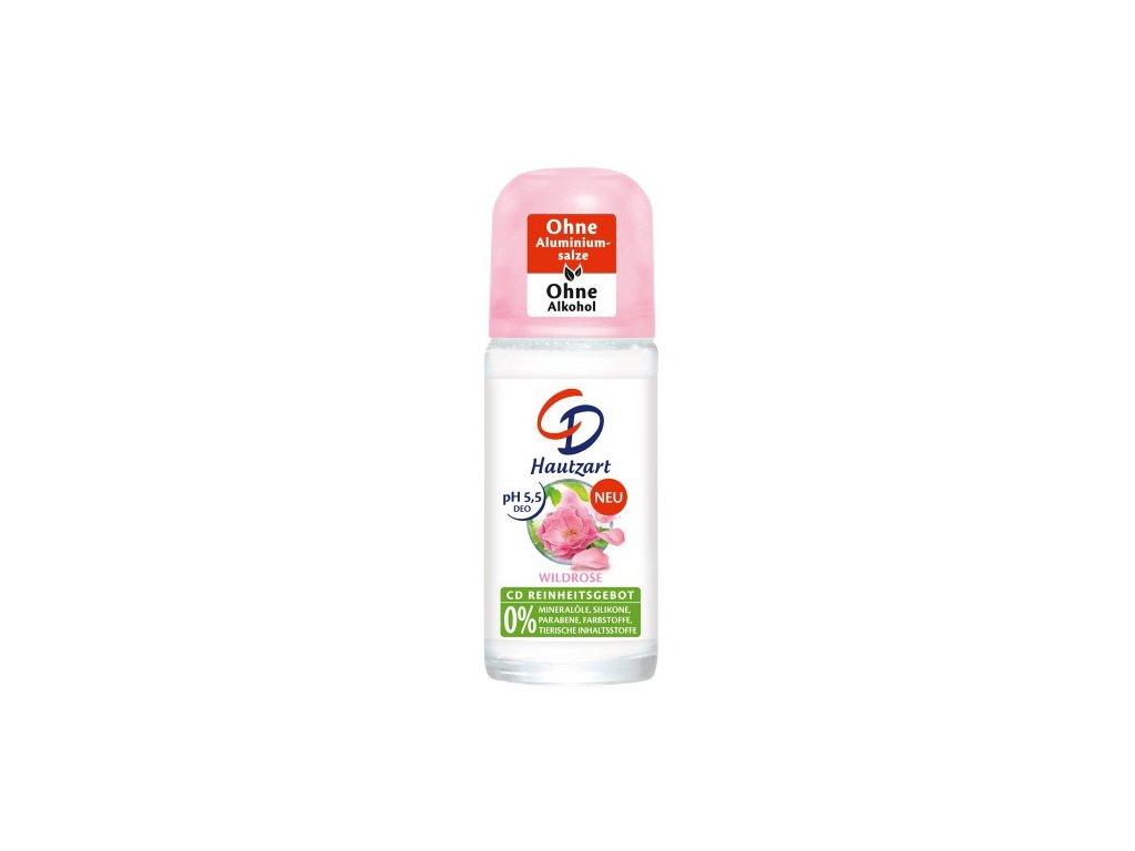 CD Wild rose deodorant Roll On s vůní divoké růže 50 ml