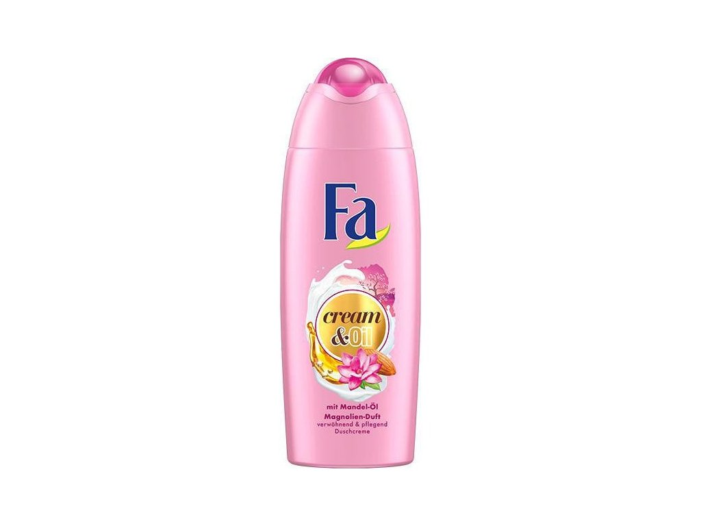 Fa Cream & Oil Magnolie s mandlemi sprchový gel 250ml2