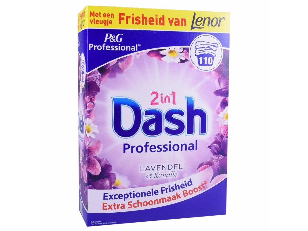Dash Professional Levandule & Heřmánek prášek na praní 110 PD