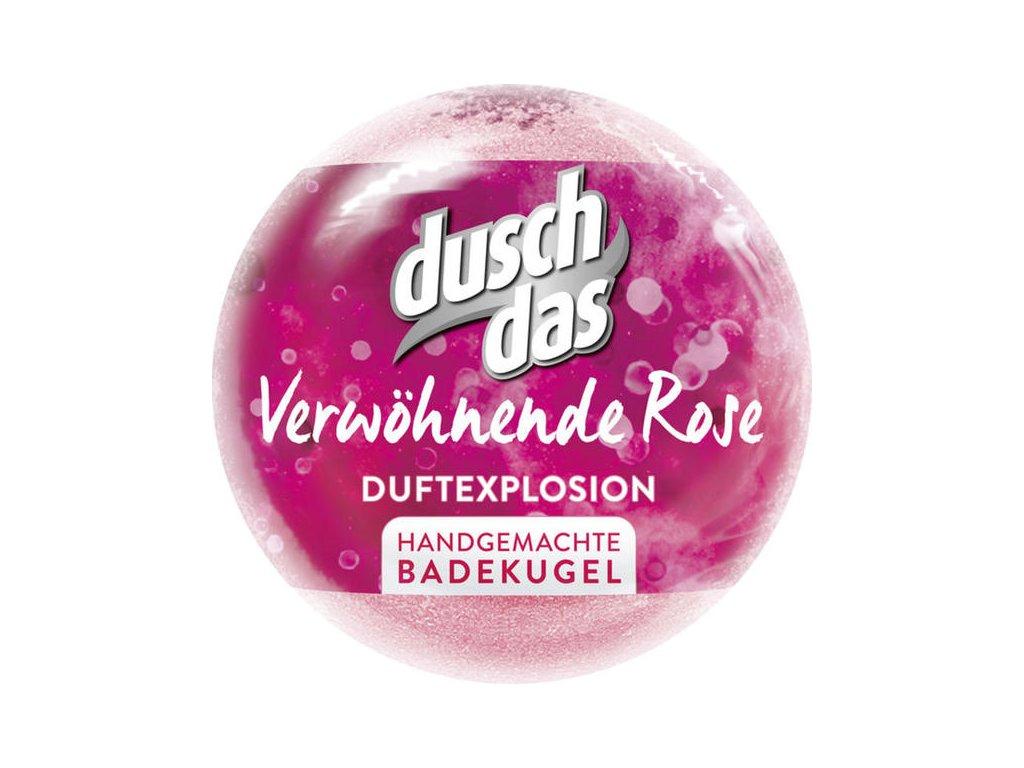 Duschdas šumivá bomba do koupele růže 100g