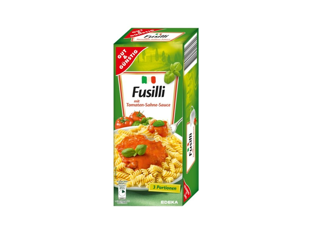 G&G Fusilli s rajčatovo smetanovou omáčkou 375g