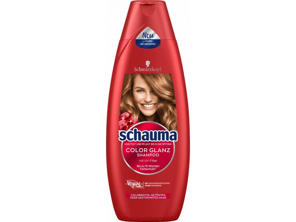 Schauma XL Color šampon pro lesk barvy 480 ml