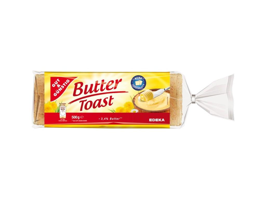 G&G toustový chléb – máslový 500g