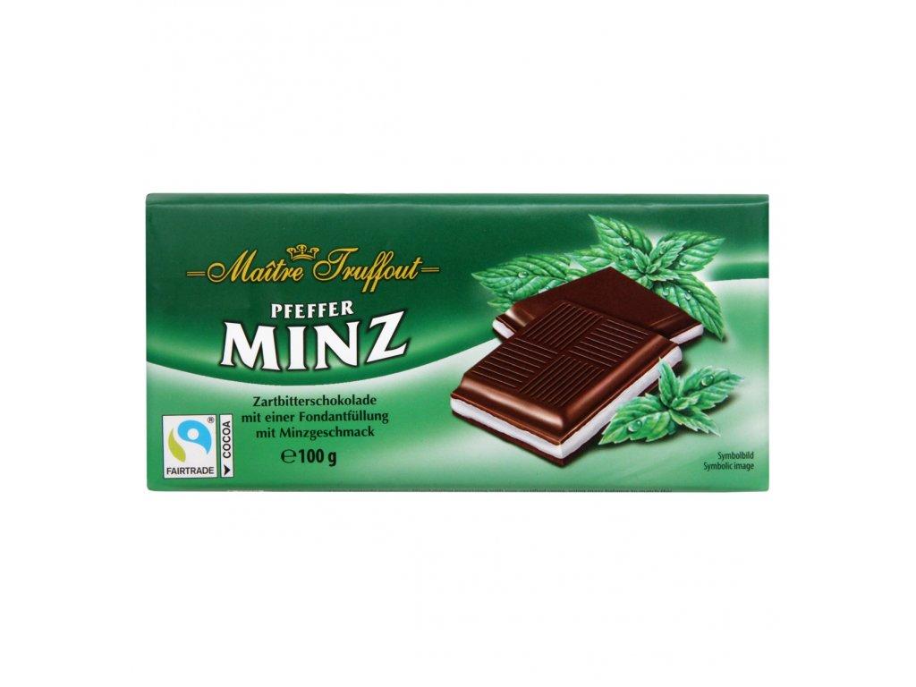 Cremeschokolade Pfefferminz 100g Bild 1 Zoombild