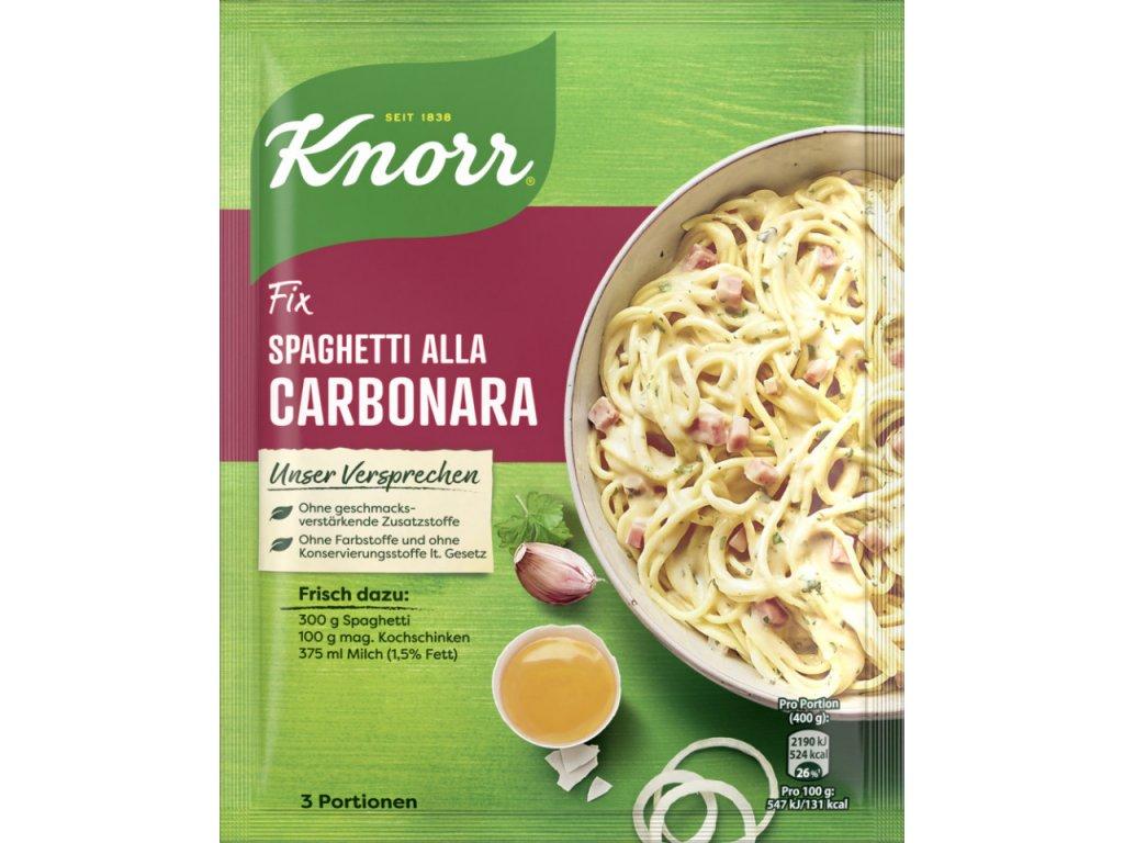 knorr fix spaghetti allacarbonara 36g