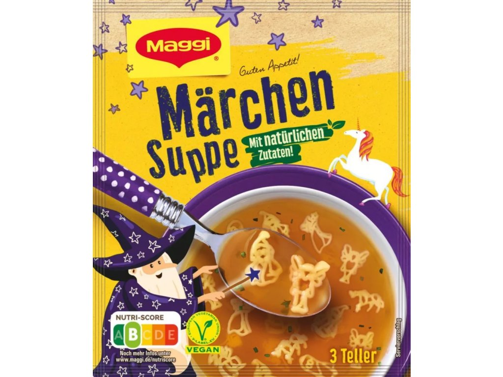 Maggi pohádková polévka pro 3 talíře