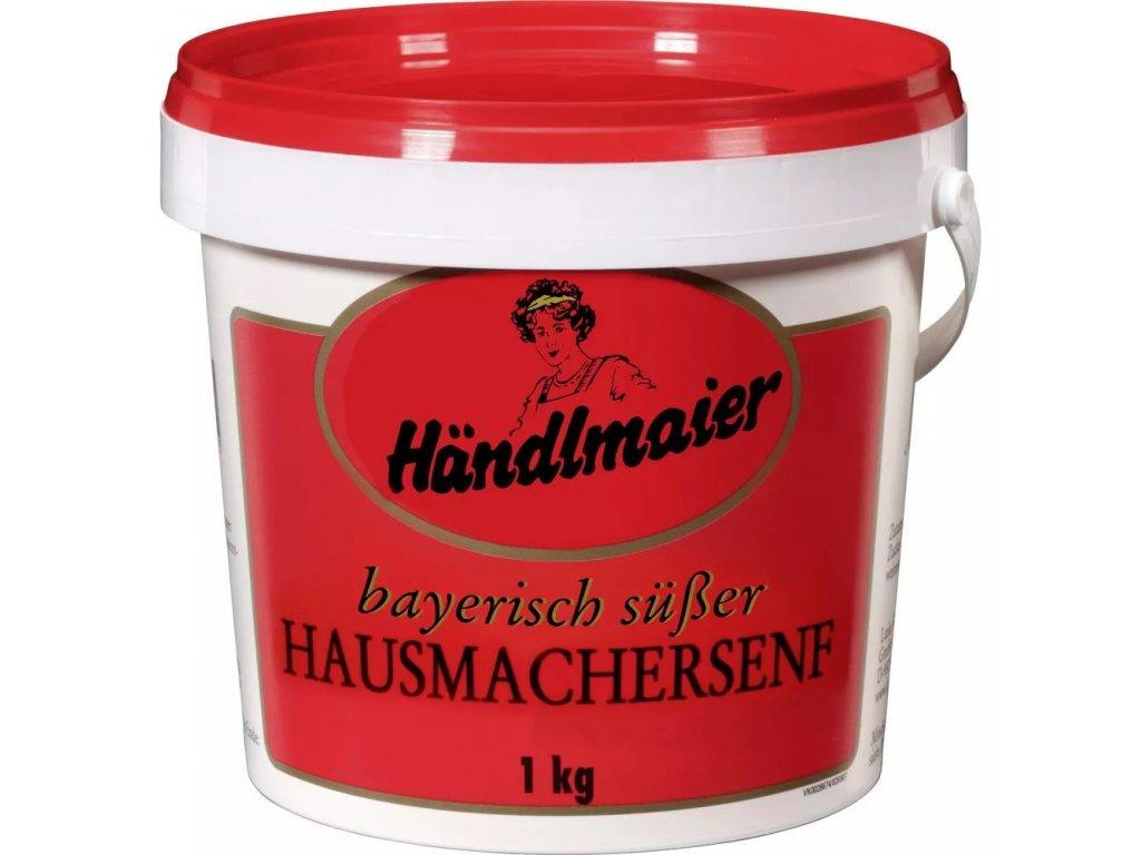 Händlmaier Bavorská sladká, domácí hořčice 1kg