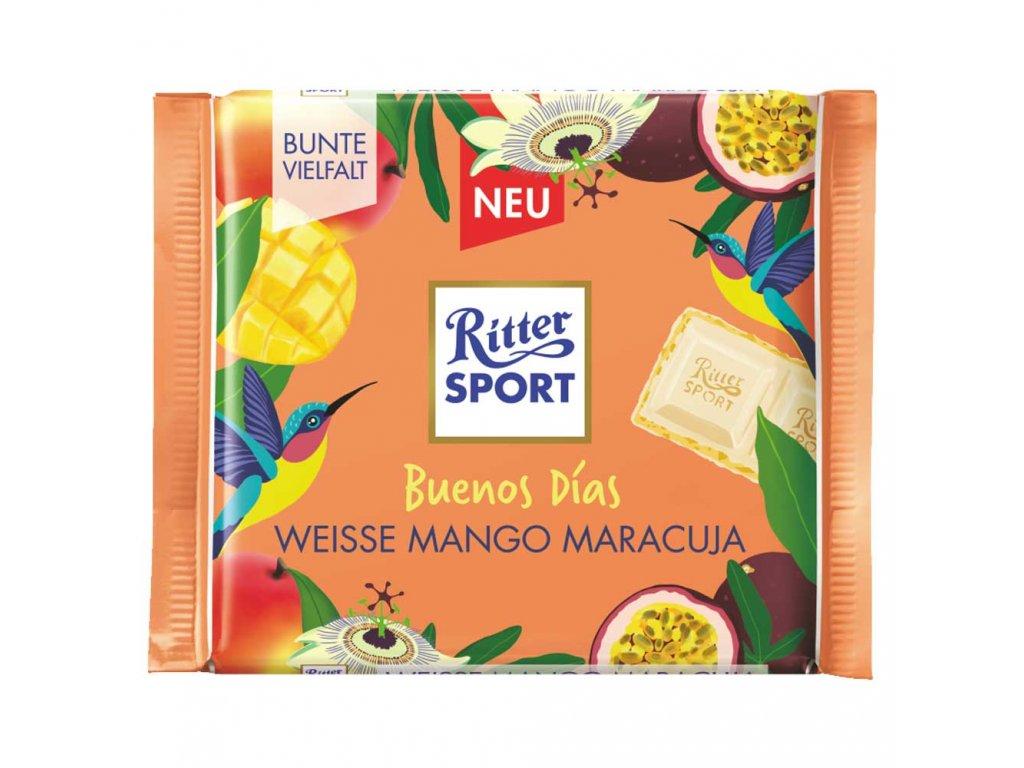 "Ritter Sport ""Buenos Días"" Weisse Mango Maracuja 100 g"