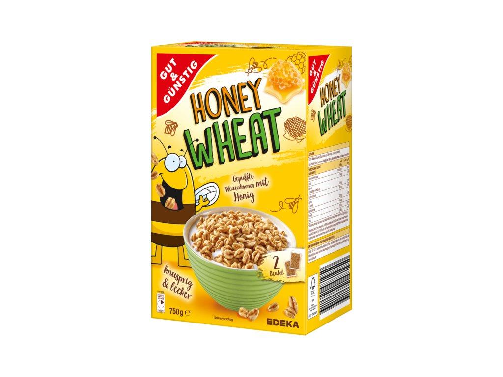 G&G Honey Wheat pšeničné lupínky s medem 750g