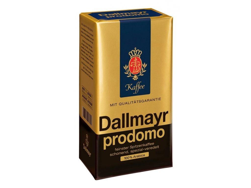 Dallmayr Prodomo (mletá káva, 100% arabica) 500 g  - originál z Německa