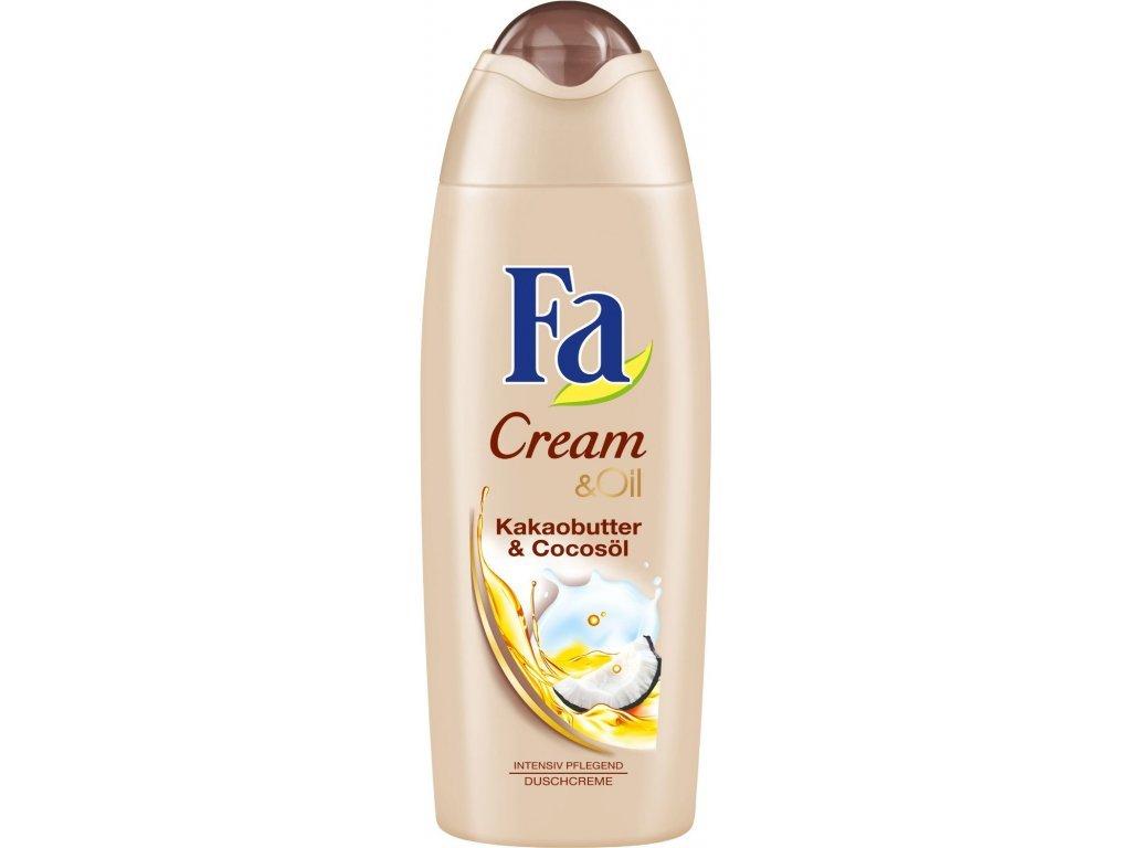 Fa Cream & Oil kakaové máslo s kokosovým olejem 250 ml  - originál z Německa