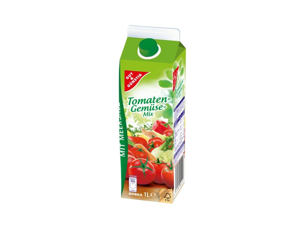 G&G Rajčatovo-zeleninová směs s mořskou solí 1L  - originál z Německa