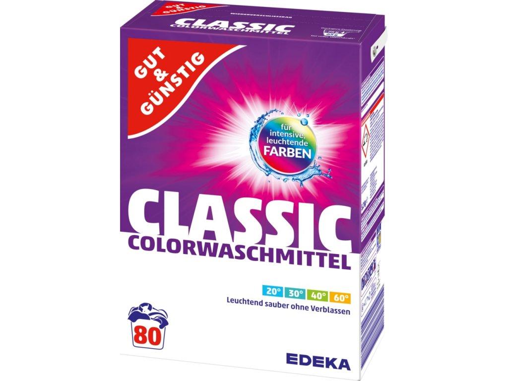 G&G Color prací prášek na barevné prádlo 80 dávek 5,2 kg