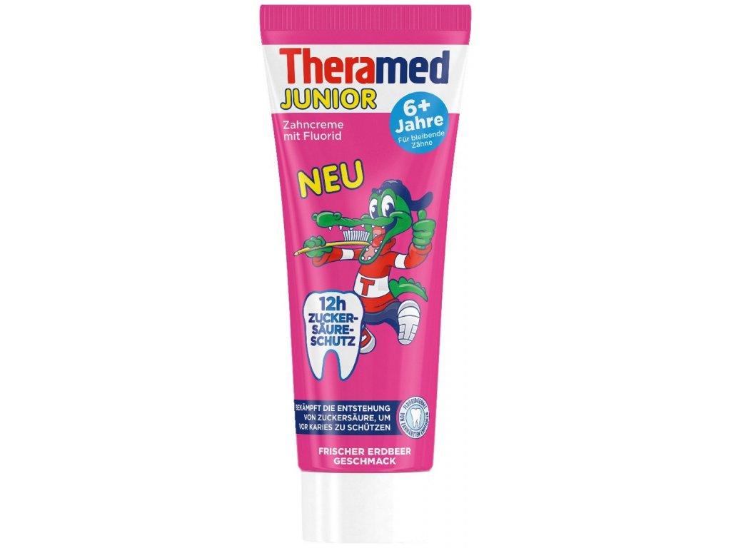 Theramed Junior 6+ zubní pasta pro děti s jahodovou příchutí 75ml  - originál z Německa