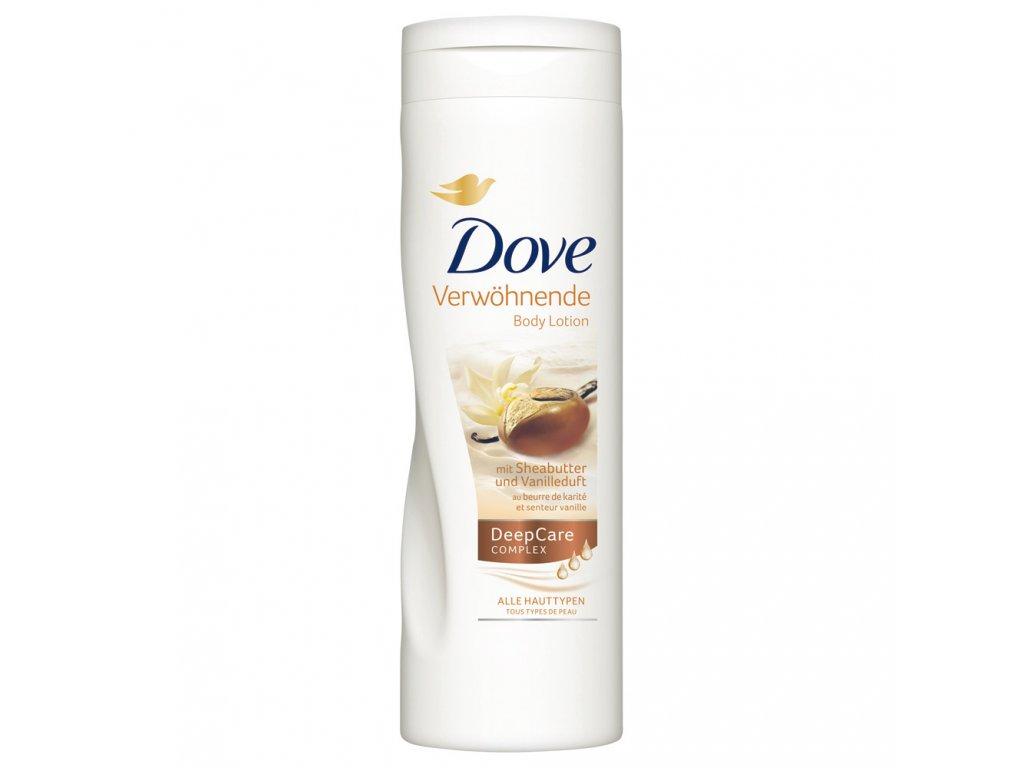 Dove Bambucké máslo s vanilkovou vůní tělové mléko 400ml  - originál z Německa