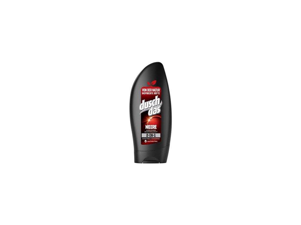 Duschdas Men NOIRE sprchový gel a šampon 250ml