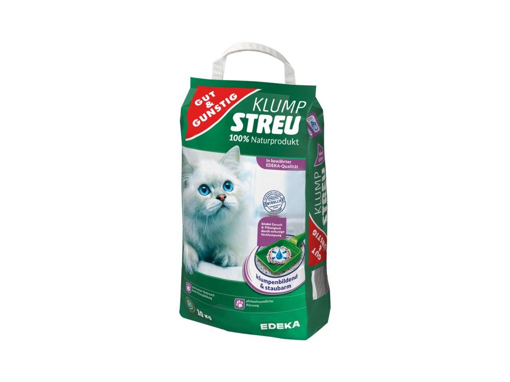 G&G Stelivo pro kočky 100% přírodní, hrudkující 10kg