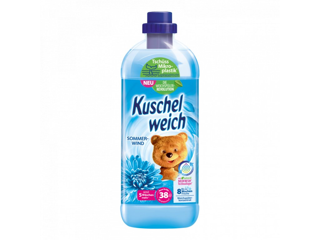 Kuschelweich Aviváž s vůní letního vánku 990 ml, 33 PD