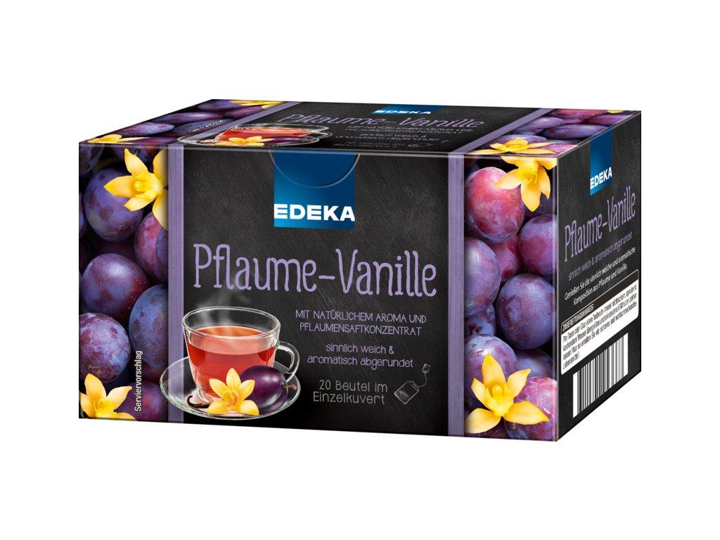 Edeka Švestka vanilka čaj 20 sáčků, 40g