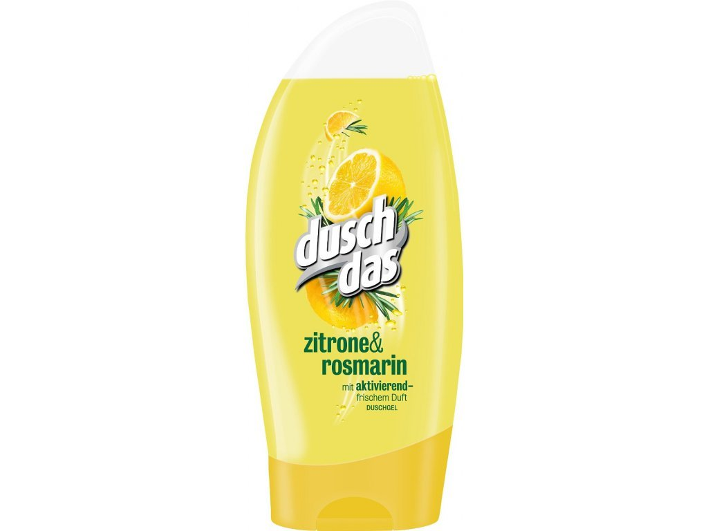 Duschdas Citrón a rozmarýn sprchový gel 250 ml  - originál z Německa