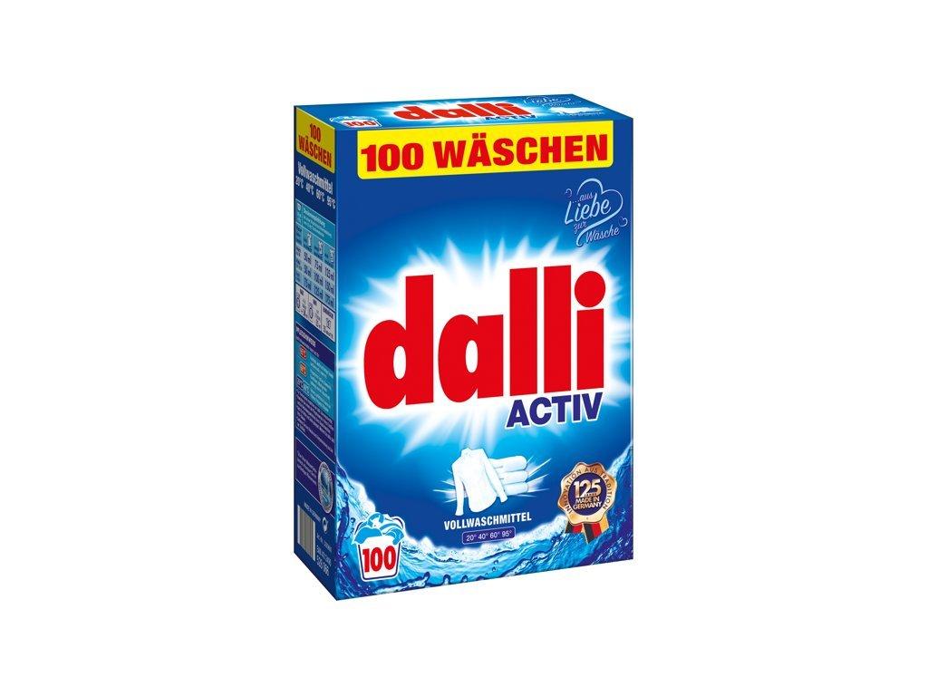 Dalli Activ Univerzální prací prášek 110 dávek, 7,15 Kg