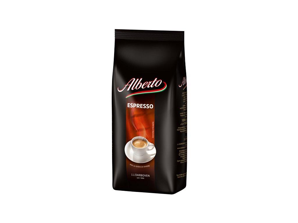 Alberto Espresso zrnková káva 1 kg  - originál z Německa