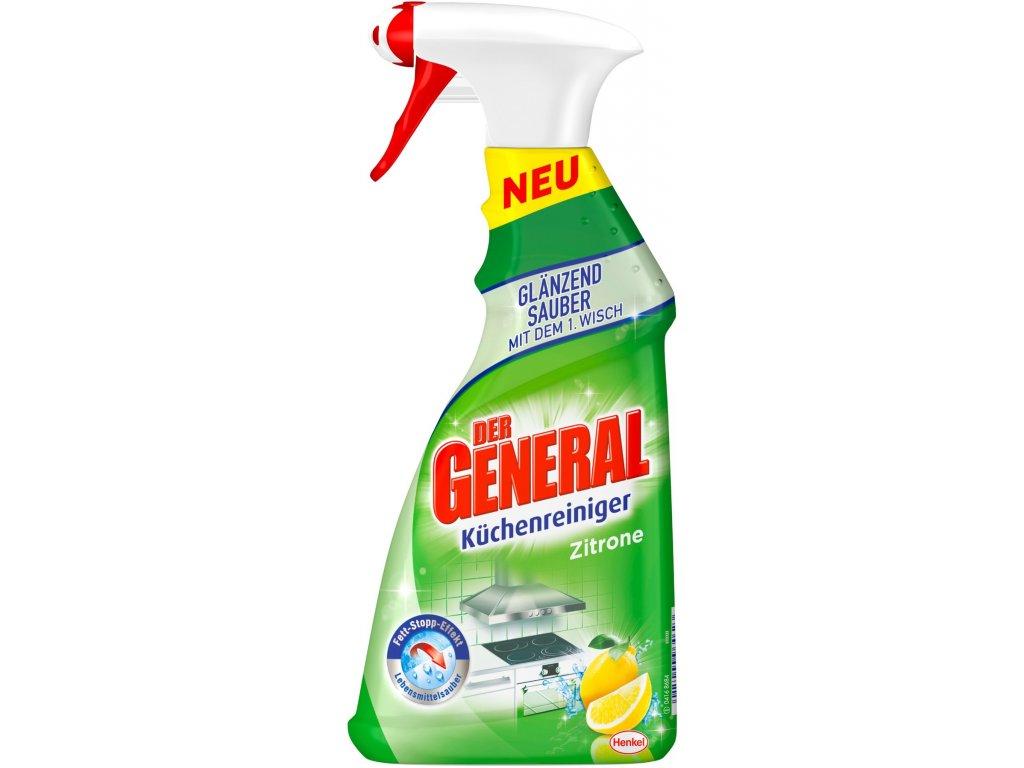 Der General Čistič na kuchyně rozprašovač s vůní citrónu 500 ml