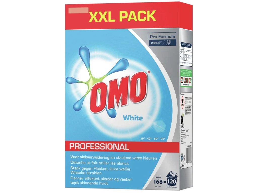 Omo Professional univerzální prací prášek 8,4 kg, 120 dávek