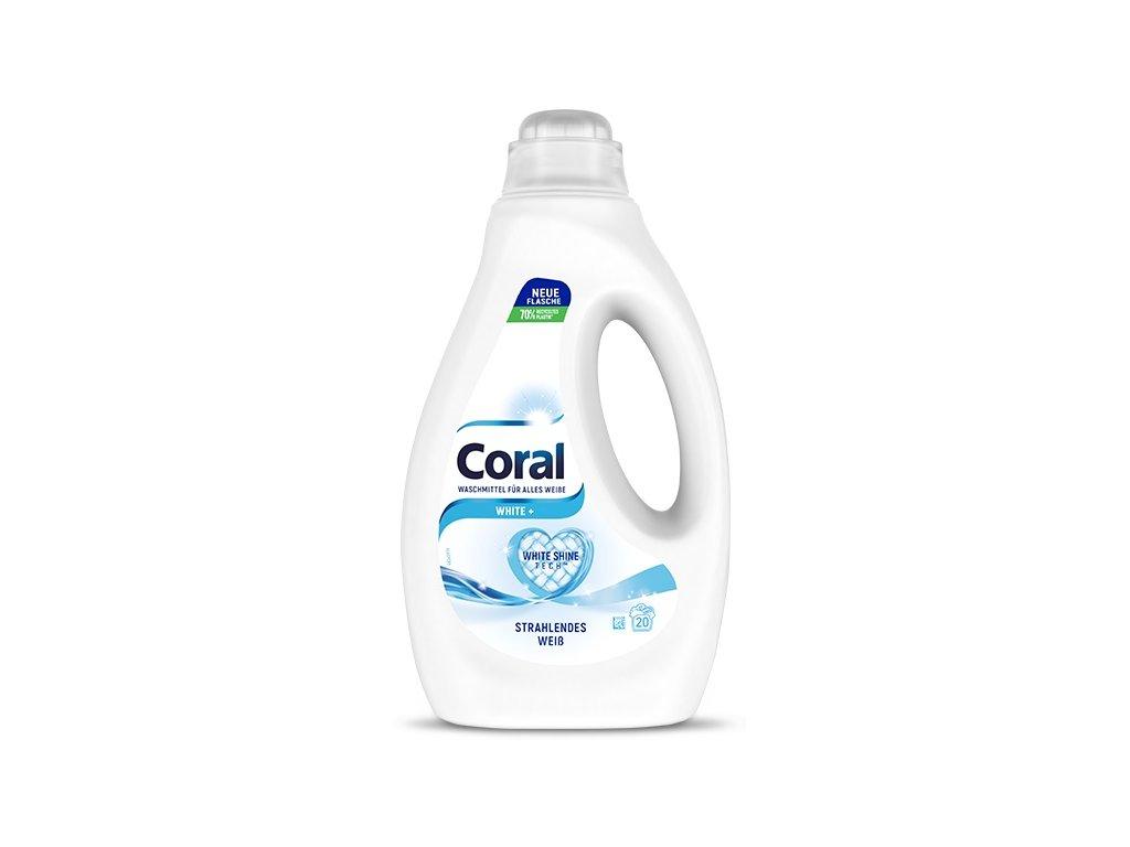 Coral Optimal White Prací gel na bílé prádlo 1,1 l, 22 dávek  - originál z Německa