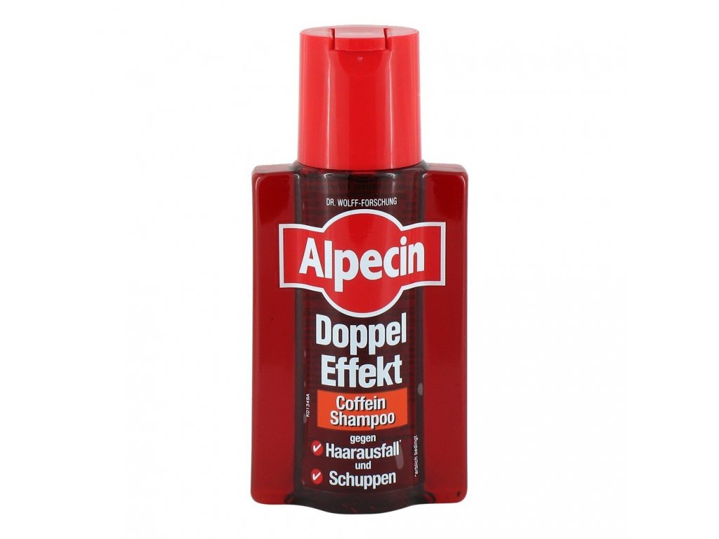 Alpecin Energizer Double Effect Shampon 200 ml  - originál z Německa