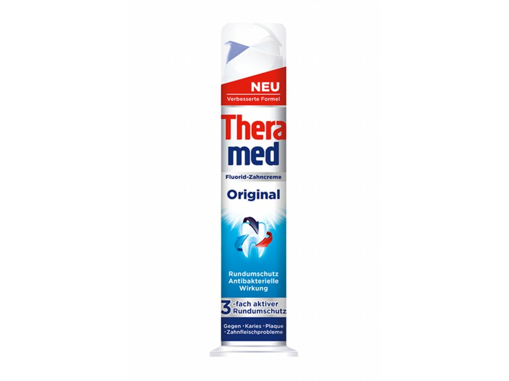 Theramed Original Zubní pasta s antibakteriálním účinkem 100ml  - originál z Německa