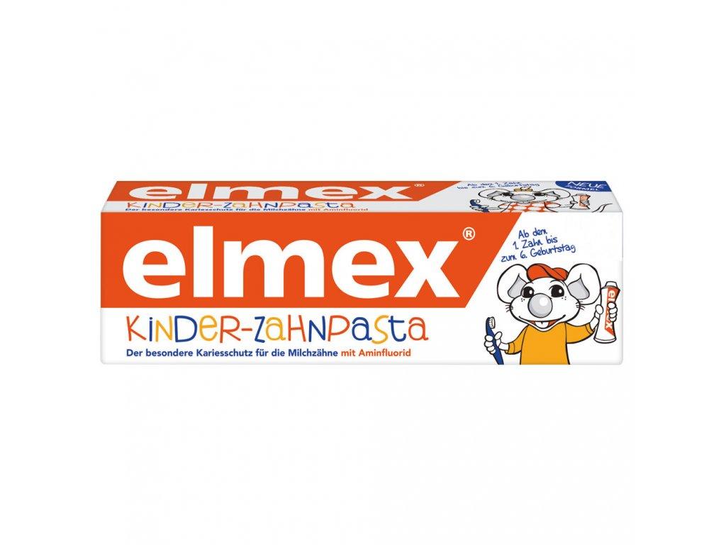 Elmex Dětská zubní pasta s aminfluoridem 2 - 6 let 50ml  - originál z Německa