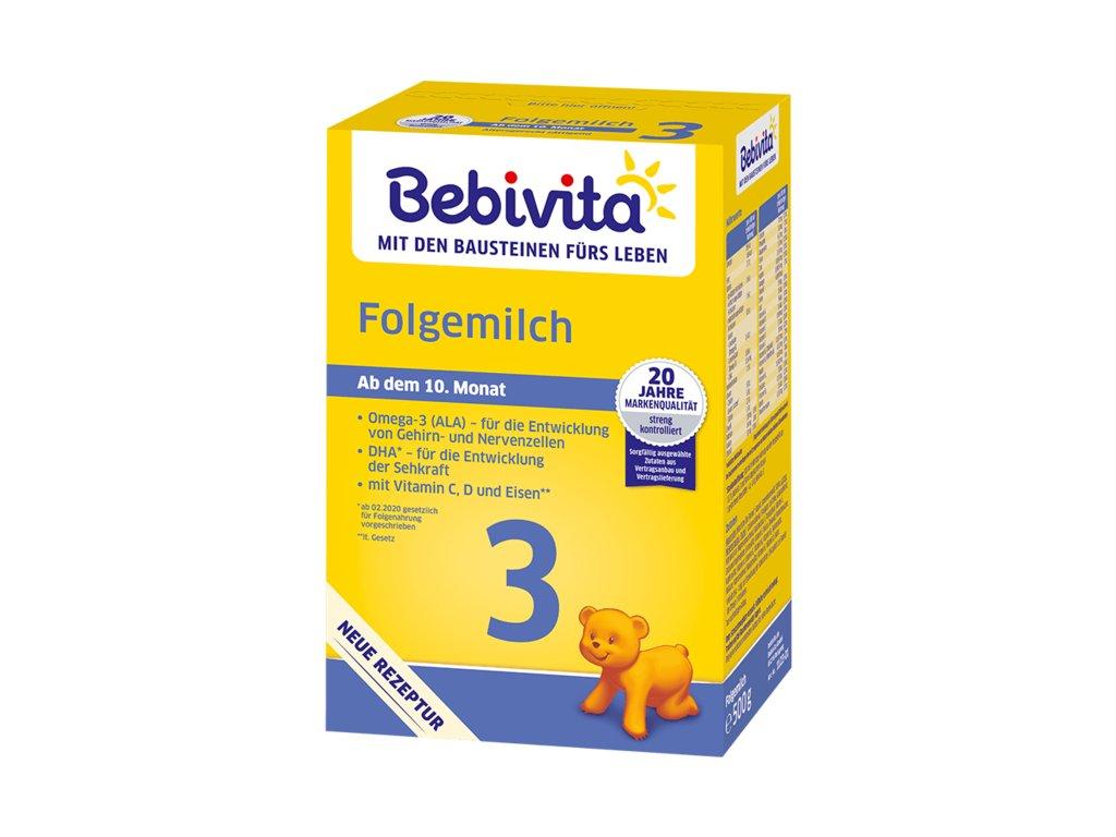 Bebivita Mléko 3 Pokračovací mléčná kojenecká výživa, 500 g