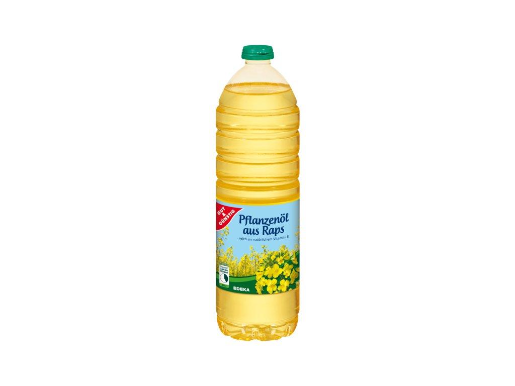 G&G Řepkový olej 100% 1l  - originál z Německa