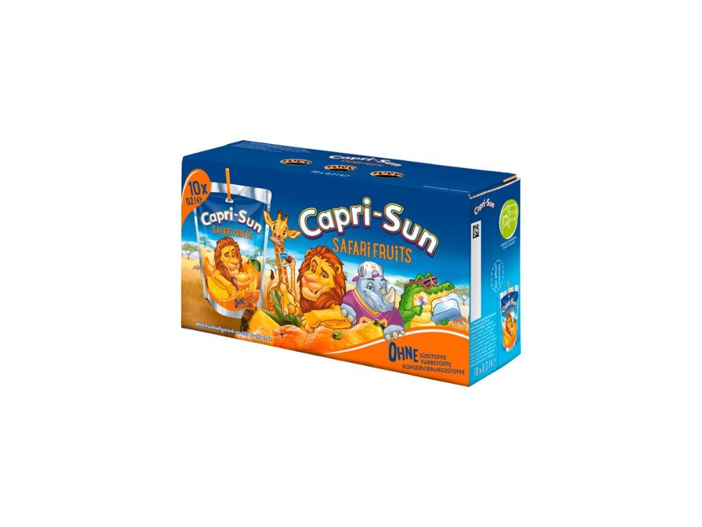 Capri Sonne Safari 10 x 200 ml  - originál z Německa
