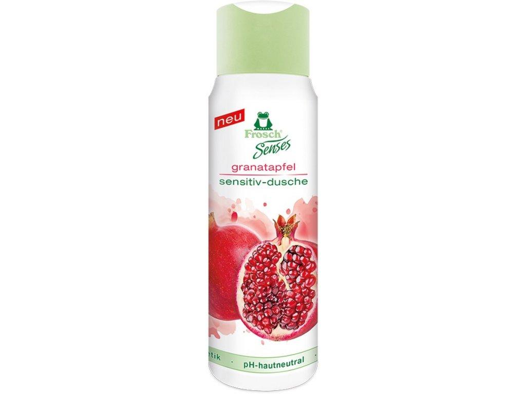 Frosch Senses Granátové jablko Sensitiv sprchový gel 300 ml
