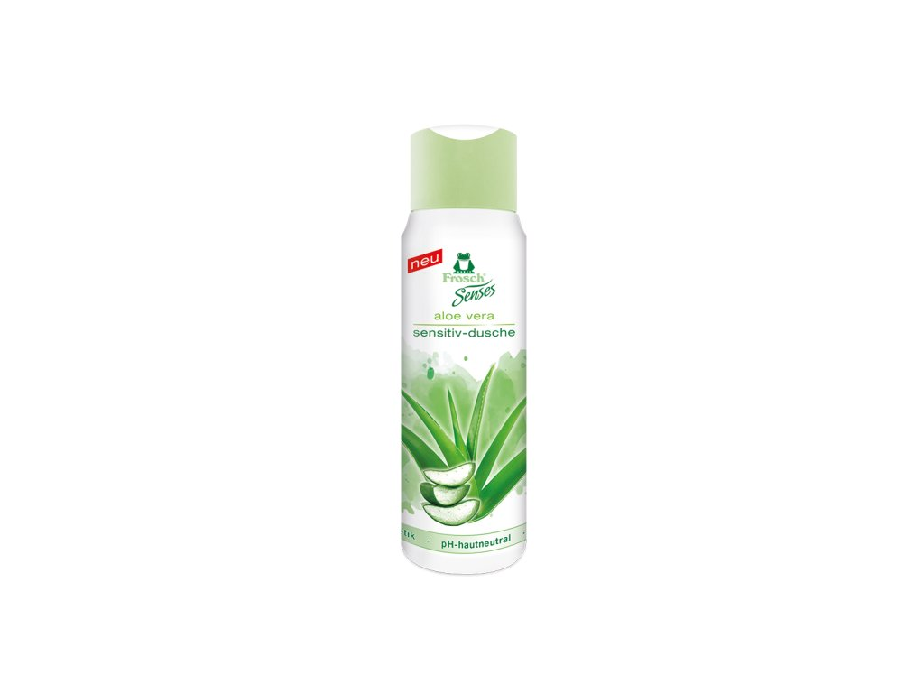 Frosch Senses Aloe vera Sensitiv sprchový gel 300 ml
