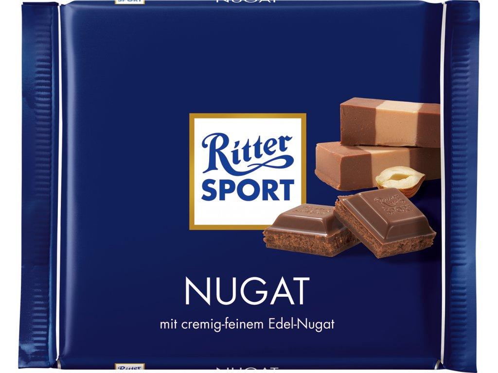 Ritter Sport Nugat 100g  - originál z Německa