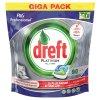Dreft Platinum All in One gelové kapsle do myčky 90 ks