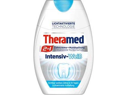 Theramed Intensive White 2 in 1 Zubní pasta + ústní voda 75 ml