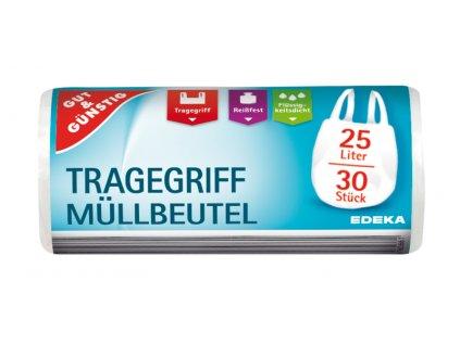 G&G Zatahovací pytle na odpadky s držadlem 30 x 25 L  - originál z Německa