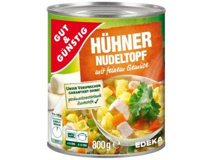 G&G Kuřecí eintopf s nudlemi a zeleninou, 800g  - originál z Německa
