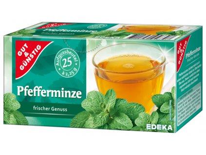 G&G Mátový bylinný čaj 25 sáčků, 56,25g  - originál z Německa