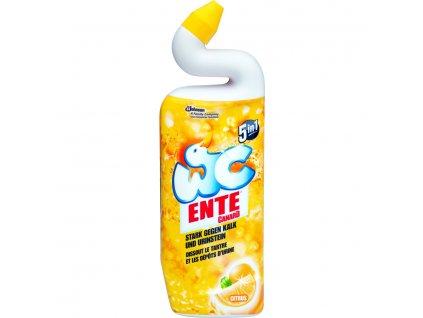 ENTE 5v1 Čistící prostředek na WC s citrónem, 750ml