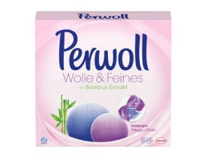 Perwoll Wolle & Feines prací prášek 16 dávek, 880g  - originál z Německa