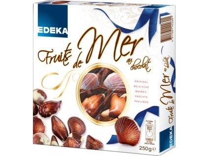 EDEKA Fruit de Mer mořské plody s lískooříškovou náplní 250g  - originál z Německa