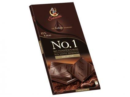 Sarotti No.1 hořká čokoláda s 85% kakaa 100g  - originál z Německa