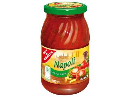 G&G Neapolská omáčka na těstoviny s bylinkami 400ml  - originál z Německa