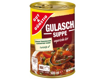 G&G Gulášová polévka 400ml  - originál z Německa
